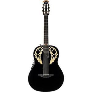 オベーションOvation 1678AV50-5 50th Anniversary Custom Elite Shallow Acoustic-Electric Guitar Gloss Black|shop-angelica