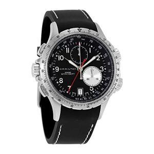 当店1年保証 ハミルトンHamilton Men's H77612333 Khaki ETO Stainless Steel Watch with Black Rubber Band|shop-angelica