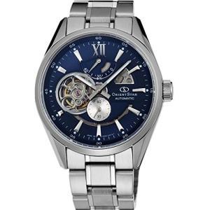 当店1年保証 オリエントOrient Star Classic Automatic Open Heart Modern Blue Skeleton Power Reserve Watch SDK05002D|shop-angelica