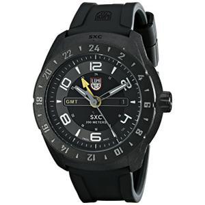 当店1年保証 ルミノックスLuminox Men's 5021 SXC PC Carbon GMT Analog Display Analog Quartz Black Watch|shop-angelica