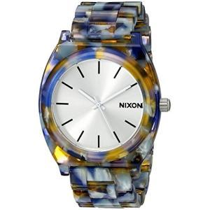 当店1年保証 ニクソンNixon Women's A3271116 Time Teller Acetate Analog Display Analog Quartz Watch|shop-angelica