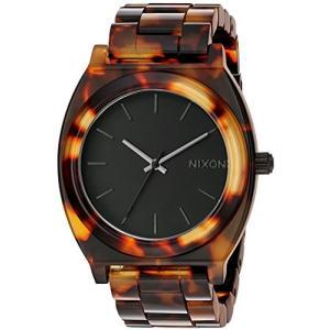 当店1年保証 ニクソンNIXON Time Teller Acetate A329 - Tortoise - 102M Water Resistant Women's Analog Fashion Watch (40mm|shop-angelica
