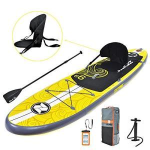 スタンドアップパドルボードZray Inflatable Paddle Board Stand Up SUP Comes with Adjustable Aluminum Paddle/High-Pressu|shop-angelica