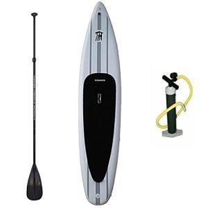 スタンドアップパドルボードTower Xplorer Inflatable 14' Stand Up Paddle Board - (8 Inches Thick) - Universal SUP Wide|shop-angelica