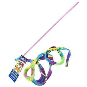 猫おもちゃCAT DANCER Original Cat Toy ? Safe Wand with Colorful Teaser Ribbon ? Flexible Exerciser ? [2 Pack]|shop-angelica