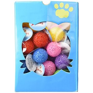 猫おもちゃZanies Kitty Playstation Refills: Crystal Ball Cat Toys, 44 Pieces|shop-angelica