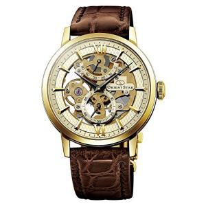 当店1年保証 オリエントORIENT STAR Flagship Skeleton Power Reserve Spherical Sapphire Gold Watch DX02001C|shop-angelica