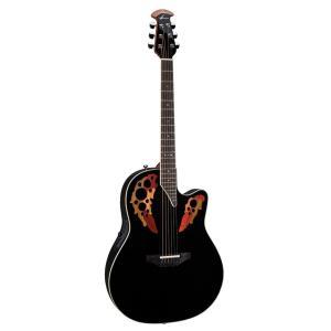 オベーションOvation 2778AX-5 Pro Elite Standard Deep Contour Acoustic-Electric Guitar Bundle with Gig Bag, Tuner, Strap, Str|shop-angelica
