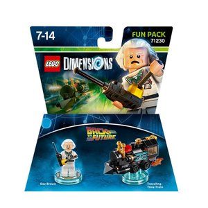 LEGO Dimensions: Fun Pack Back To The Future Doc B...