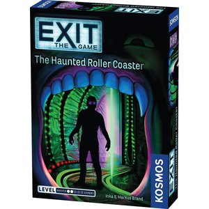 英語Exit: The Haunted Roller Coaster | Exit: The Gam...