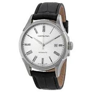 当店1年保証 ハミルトンHamilton Men's H39515754 Valiant Analog Display Automatic Self Wind Black Watch|shop-angelica