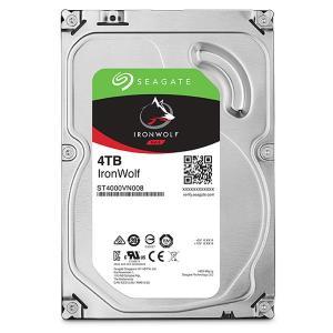 3.5インチ内蔵HDD 4TB SATA600 新品 IronWolf SEAGATE シーゲイト ...