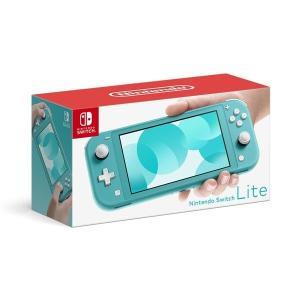 Nintendo Switch Lite ターコイズ ゲーム機本体 任天堂 携帯ゲーム機 ニンテンド...