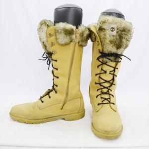 Timberland / ティンバーランド  ロングブーツ/ブラウン/ファー付き/23.5cm/靴/...
