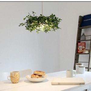 LED 照明器具 おしゃれ 北欧 ペンダントライト 緑 植物 Alloro アローロ|shop-askm