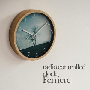 壁掛け電波時計 ウォールクロック Ferriere フェリエール INTERFORM インターフォルム cl-1370|shop-askm