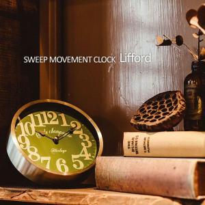 壁掛け時計 ウォールクロック  Lifford リフォード スイープ 音が鳴らない cl-1700 置き時計|shop-askm