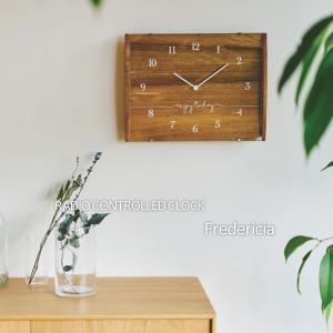 壁掛け電波時計 ウォールクロック Fredericia フレデンシア cl-2160|shop-askm