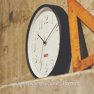 壁掛け電波時計 ウォールクロック Prrent ポレント cl-2540|shop-askm