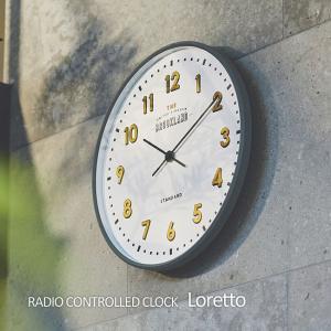 壁掛け電波時計 ウォールクロック Loretto ロレト cl-2542|shop-askm