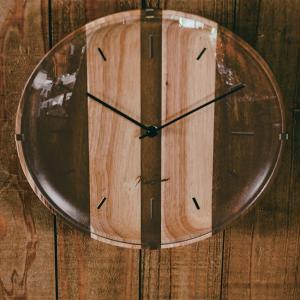 壁掛け時計 ウォールクロック  Vague ヴァーグ スイープ 音が鳴らない cl-2936|shop-askm