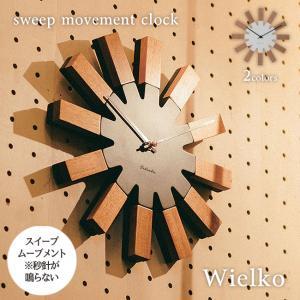 壁掛け時計 ウォールクロック  Wielko ヴィエルコ スイープ 音が鳴らない cl-2949 shop-askm