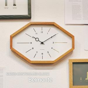 壁掛け電波時計 ウォールクロック Belmonte ベルモンテ INTERFORM インターフォルム cl-3024|shop-askm