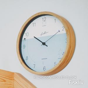 壁掛け電波時計 ウォールクロック Fiskliv フィスクリヴ cl-3027 shop-askm