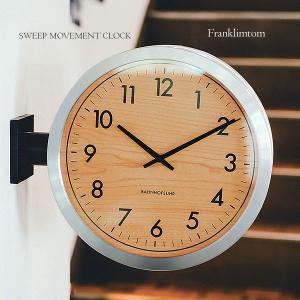 壁掛け時計 ウォールクロック  Franklinton フランクリントン スイープ 音が鳴らない cl-3275|shop-askm
