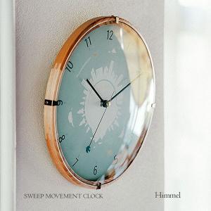 壁掛け時計 ウォールクロック  Himmel ヒンメル スイープ 音が鳴らない cl-3360 置き時計 shop-askm