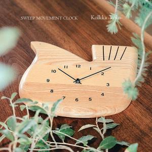 壁掛け時計 ウォールクロック  Kolkka-koko- コルッカココ スイープ 音が鳴らない cl-3362 shop-askm