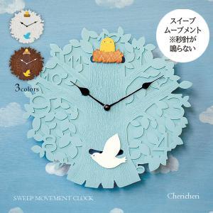 壁掛け時計 ウォールクロック  Chericheri シェリーシェリー スイープ 音が鳴らない cl-3367 振り子時計|shop-askm