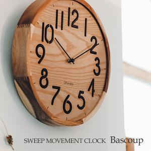 壁掛け時計 ウォールクロック  Bascoup バスク スイープ 音が鳴らない cl-3708|shop-askm