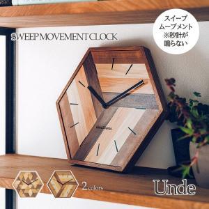 壁掛け時計 ウォールクロック Unde アンデ スイープ 音が鳴らない cl-3848|shop-askm