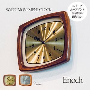 壁掛け時計 ウォールクロック Enoch イーノク スイープ 音が鳴らない cl-3853|shop-askm
