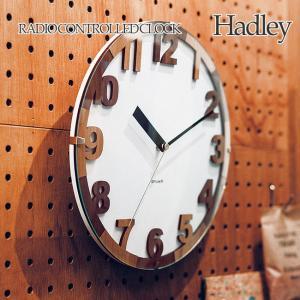 壁掛け電波時計 ウォールクロック Hadley ハドリー cl-3854|shop-askm