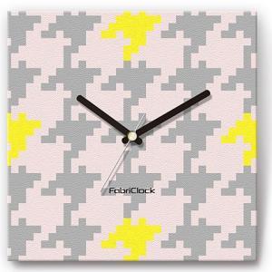 壁掛け時計 大千鳥 ファブリクロック ファブリック ウォールクロック 掛時計 壁時計 かけ時計 スイープ とけい ちどり 模様|shop-askm