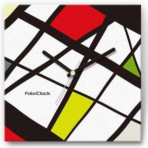 壁掛け時計 ステンドグラス ファブリクロック ファブリック ウォールクロック 掛時計 壁時計 かけ時計 スイープ とけい モダン|shop-askm