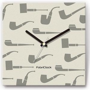 壁掛け時計 パイプ ファブリクロック ファブリック ウォールクロック 掛時計 壁時計 かけ時計 スイープ とけい タバコ 煙草|shop-askm