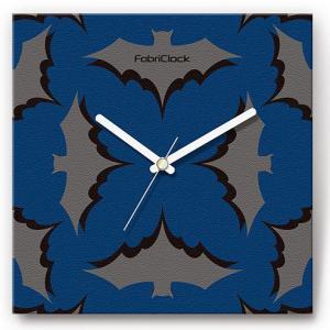 壁掛け時計 こうもり ファブリクロック ファブリック ウォールクロック 掛時計 壁時計 かけ時計 スイープ とけい 動物|shop-askm