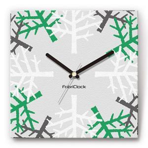 壁掛け時計 樹木 ファブリクロック ファブリック ウォールクロック 掛時計 壁時計 かけ時計 スイープ とけい 植物 ウッド|shop-askm
