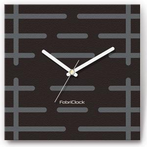 壁掛け時計 ゲート ファブリクロック ファブリック ウォールクロック 掛時計 壁時計 かけ時計 スイープ とけい 門 黒 ブラック|shop-askm