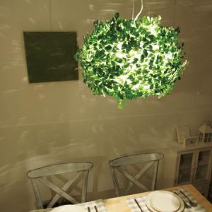 照明器具 リビング ペンダントライト 北欧 緑 植物 Orland-big オーランドビッグ|shop-askm