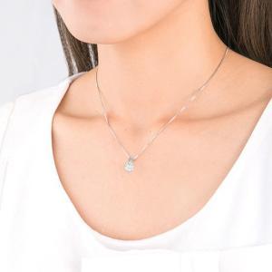 ダイヤモンド ネックレス プラチナ 一粒 ダイヤネックレス 鑑定書付 Hカラー 0.3カラット 一粒 ダイヤモンド ネックレス|shop-avanty|05