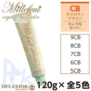 千代田化学 デラクシオ ミルフィ CB (キャロティブラウン) 120g 各色選択 全5色|shop-beautiful-life