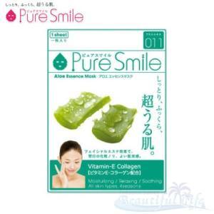 Pure Smile エッセンスマスク アロエ 化粧水タイプ 【ピュアスマイル フェイスマスク 1枚】|shop-beautiful-life