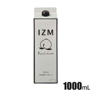 酵素ドリンク IZM ピーチ テイスト 1000mL peach taste ダイエット 酵素 腸内フローラ shop-beautiful-life