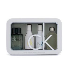 カルバンクライン Calvin Klein 香水 トラベルエディション コフレ:CKワン オードトワレ スプレー 15ml + CKフリー オードトワレ スプレー 10ml + IN2U ウー|shop-belleza