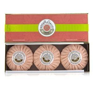 ロジェ&ガレ Roger & Gallet 香水 フルール デ フィギュール パフューム ソープ コフレ 3x100g/3.5oz|shop-belleza