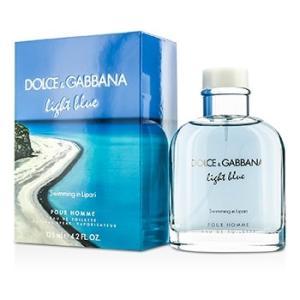 ドルチェ&ガッバーナ Dolce & Gabbana 香水 ライト ブルー スイミング イン リーパリ オードトワレ スプレー(Limited Edition) 125ml/4.2oz|shop-belleza